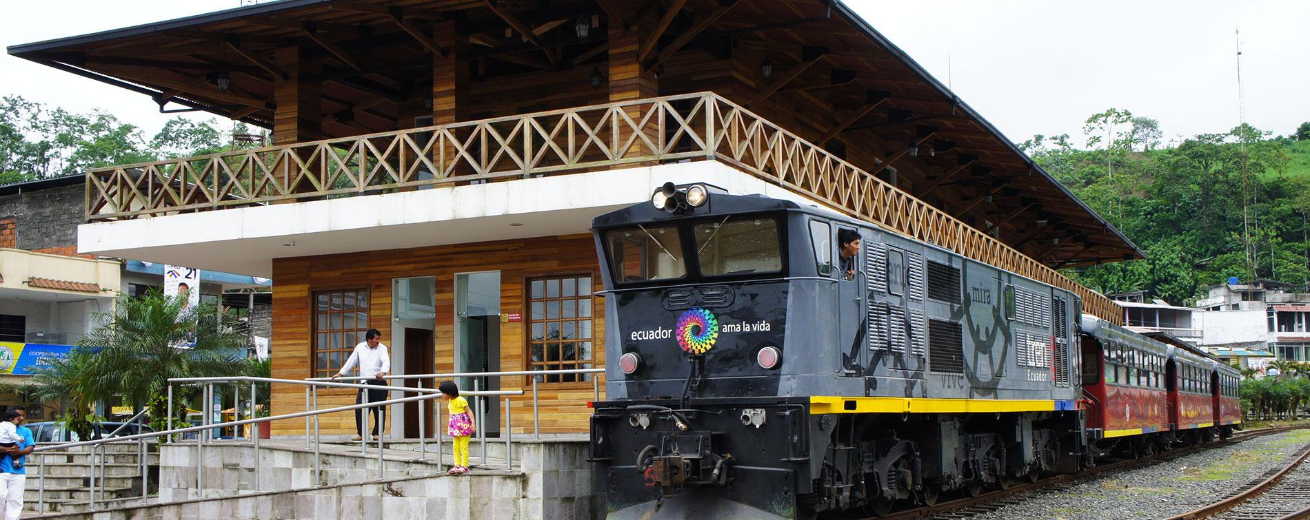 Tren Bucay Ecuador