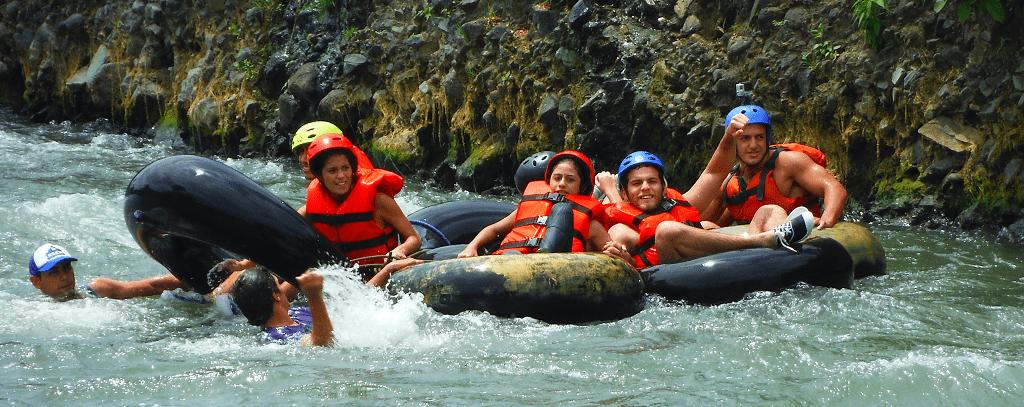 Tubing en Bucay