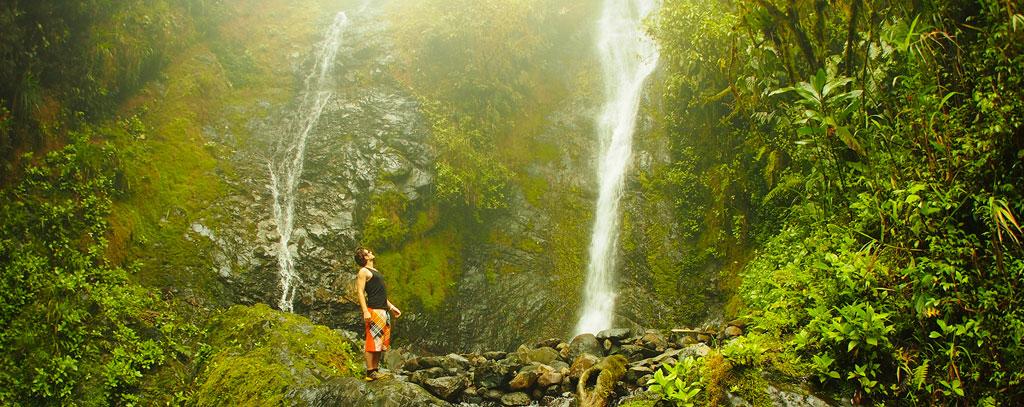 cloud forest trekking tour Bucay