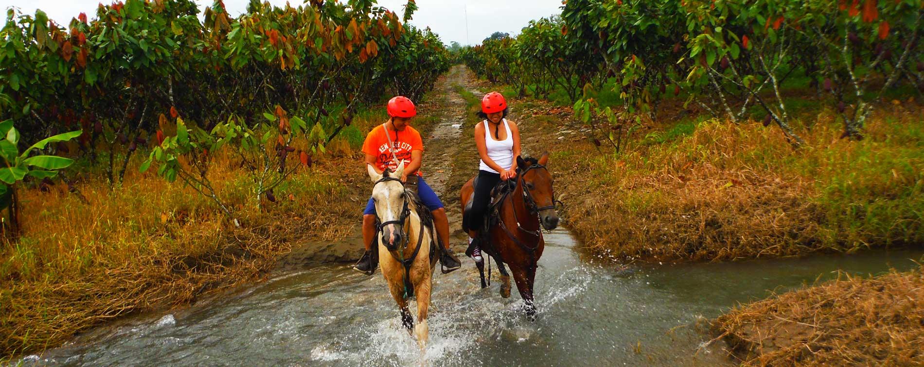 cabalgatas bucay Ecuador