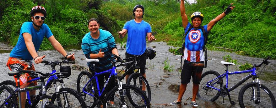 Bicicleta Bucay Ecuador