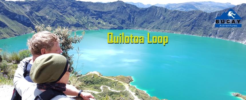 Laguna Quilotoa Ecuador trekking tour andes