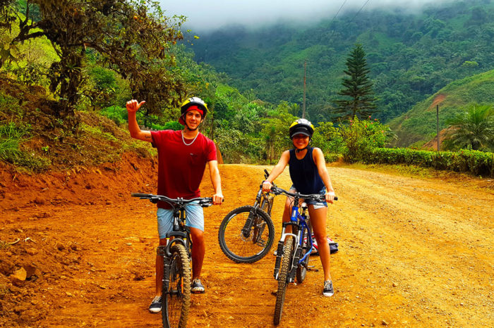 Bicicleta Bucay Ruta Cascadas